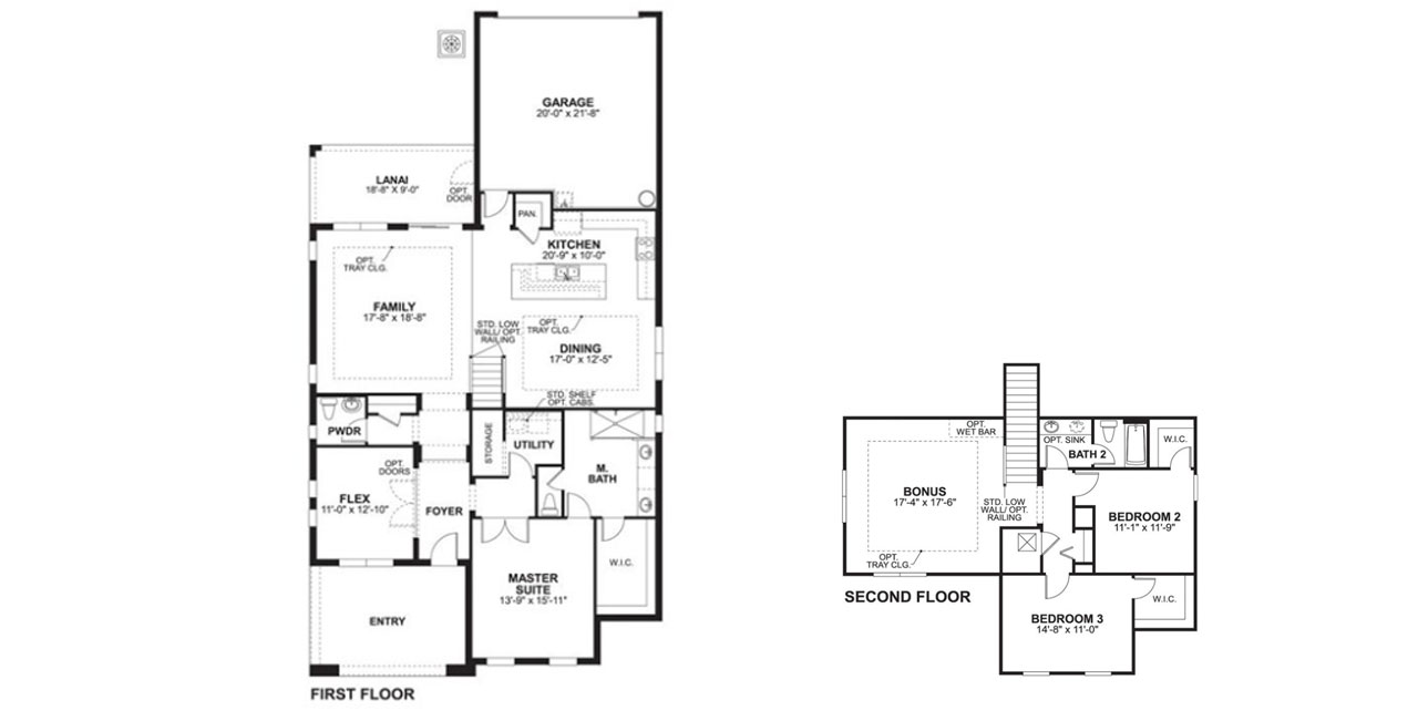 Sheridan model by mi homes for Mi homes ranch floor plans