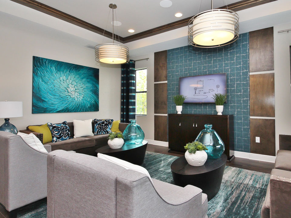 The Sheridan model by M/I Homes at Starkey Ranch