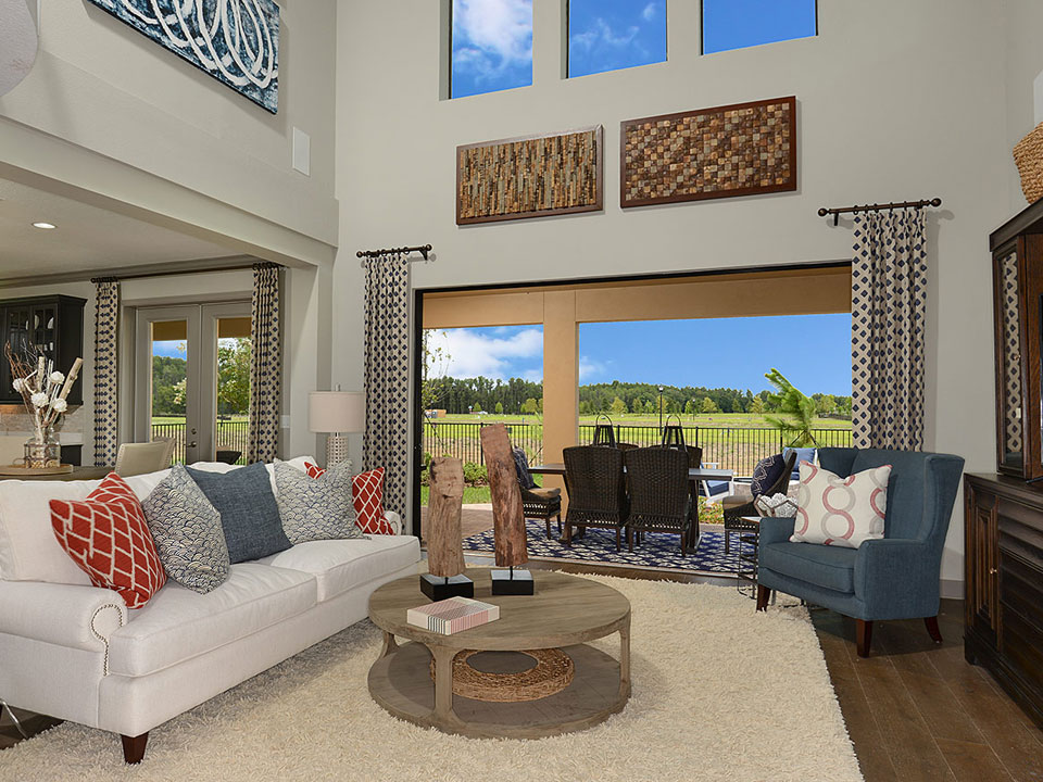 Ryland Sebring Model Home at Starkey Ranch