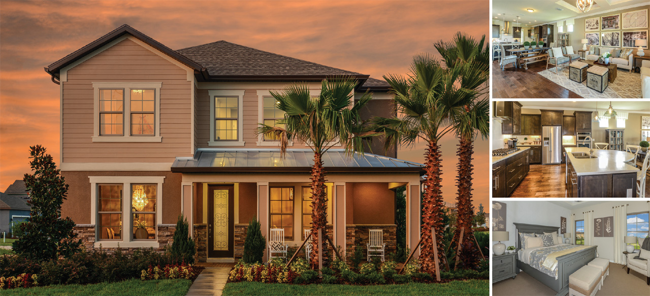 Pulte Homes Model at Starkey Ranch