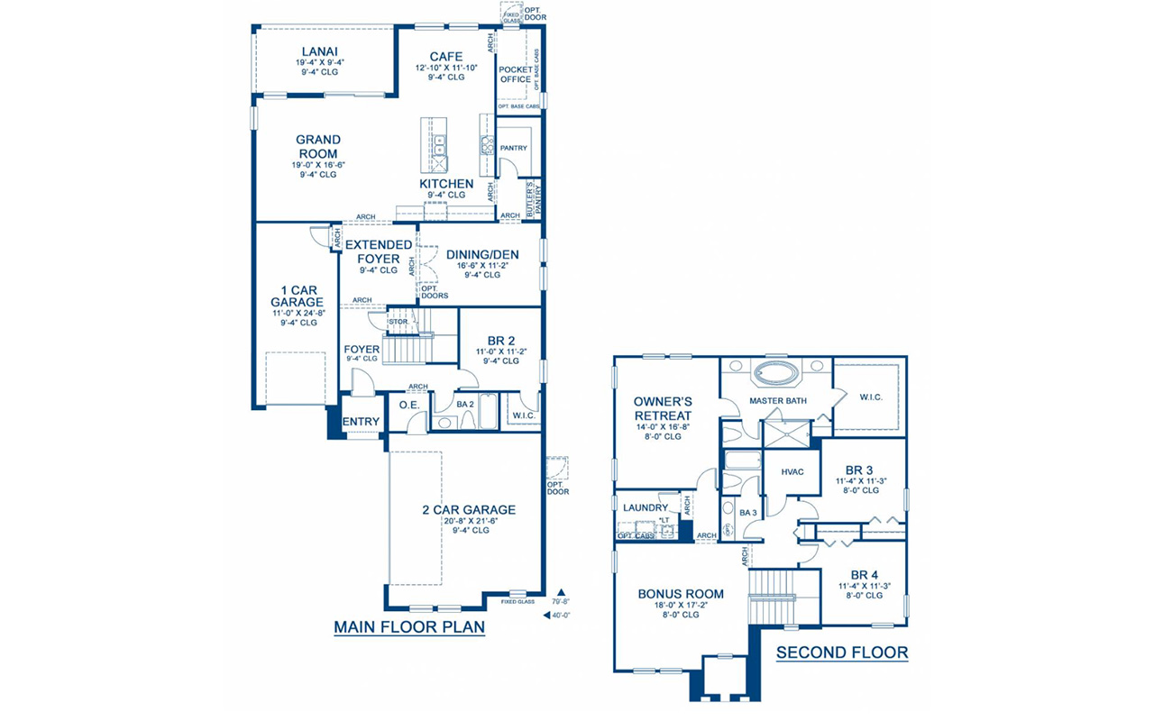 Ballast Point Floor Plan - Homes by WestBay
